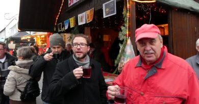 SPD beim Hammersbacher Weihnachtsmarkt