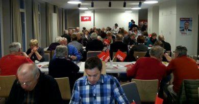 Großer Zuspruch beim Heringsessen der SPD