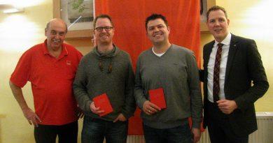 Neue Mitglieder in der Hammersbacher SPD
