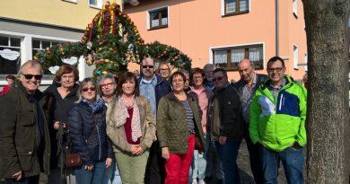 SPD besucht das Osterbrunnenfest