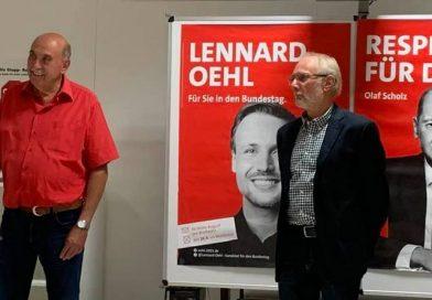 Wilfried Bender und Ewald Jaé geehrt